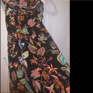 H&M Hi-low Floral Dress